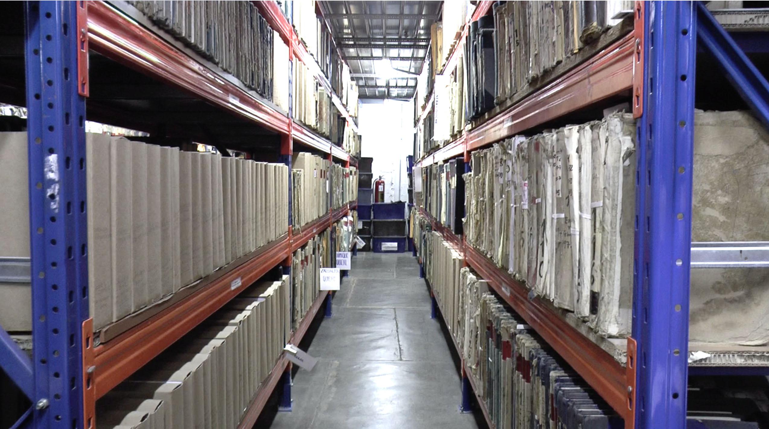 Archivo central RENAP