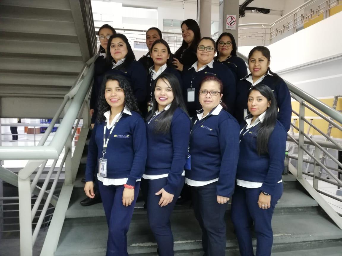 –RENAP- valora el esfuerzo y dedicación de todas las trabajadoras de la institución